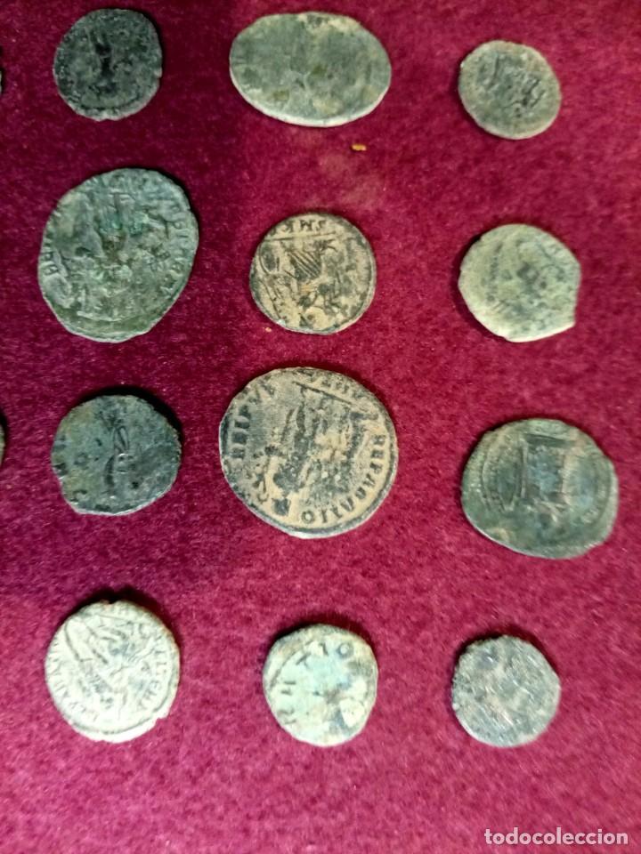 Monedas Imperio Romano: Lote de 20 monedas romanas - Foto 6 - 225073128