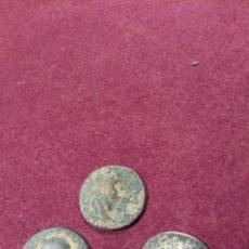 Monedas Imperio Romano: LOTE DE TRES ASES ROMANOS. Lote 228504340