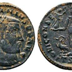 Moedas Império Romano: LICINIO I. LICINIUS I (308-324). AE FOLLIS PLATEADO. 3.3 GR 23 MM. MBC+. Lote 228656005