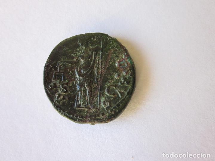 Monedas Imperio Romano: As de Adriano. Aequitas aug. - Foto 2 - 230224445