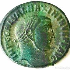 Monedas Imperio Romano: IMPERIO ROMANO ORIENTE. FOLLIS. LICINIO Y MAXIMINO II. Y NO IDENTIFICADA. Lote 231209810
