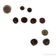 Monedas Imperio Romano: 9 MONEDAS DE LA ÉPOCA ROMANA. Lote 232719515