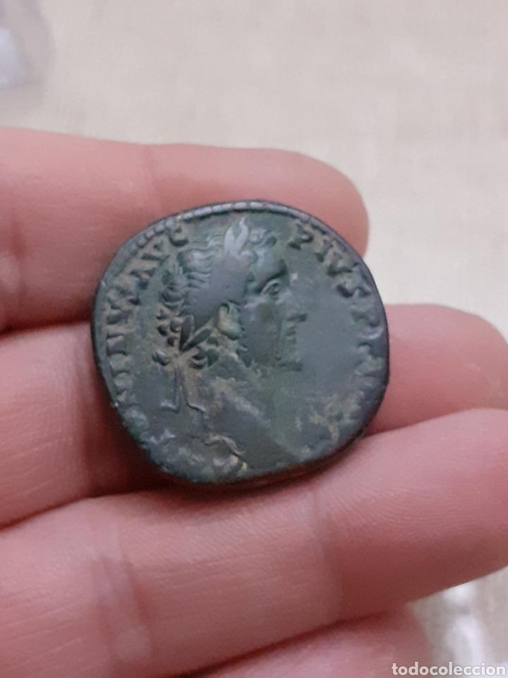 EXCELENTE Y ESCASO SESTERCIO ANTONINO PIO ROMA REF68 (Numismática - Periodo Antiguo - Roma Imperio)