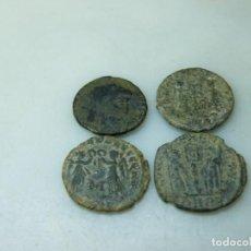 Monedas Imperio Romano: LOTE E-4 MONEDAS ROMANAS A LIMPIAR. (ELCOFREDELABUELO). Lote 234114115