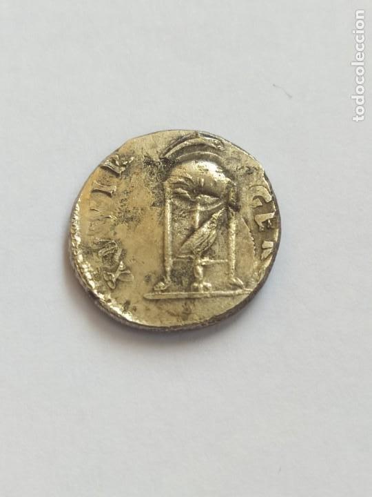 ANTIGUA MONEDA IMPERIO ROMANO DE PLATA (Numismática - Periodo Antiguo - Roma Imperio)