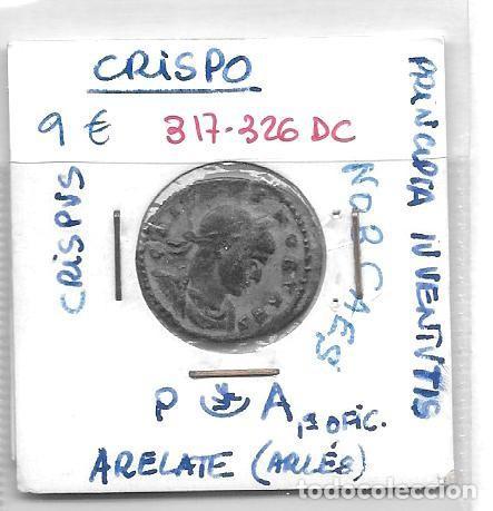MONEDA DE CRISPO (Numismática - Periodo Antiguo - Roma Imperio)