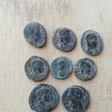 Monedas Imperio Romano: LOTE DE 8 BONITAS MONEDAS ROMANAS DEL BAJO IMPERIO.. Lote 234577270