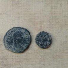 Monedas Imperio Romano: LOTE DE 2 MONEDAS GRACIANO.. Lote 234698245