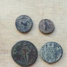 Monedas Imperio Romano: LOTE DE 4 BONITAS MONEDAS DE CONSTANTINO.. Lote 234701430