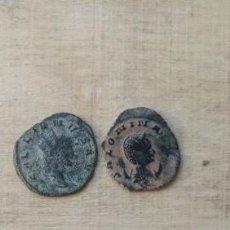 Monedas Imperio Romano: 2 ANTONINIANOS DE GALIENO Y SALONINA.. Lote 234703185