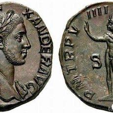 Monedas Imperio Romano: PRECIOSA MONEDA ROMANA ROMA IMPERIAL IMPERIO SESTERCIO BRONCE ALEJANDRO SEVERO REV. SOL. Lote 234904180