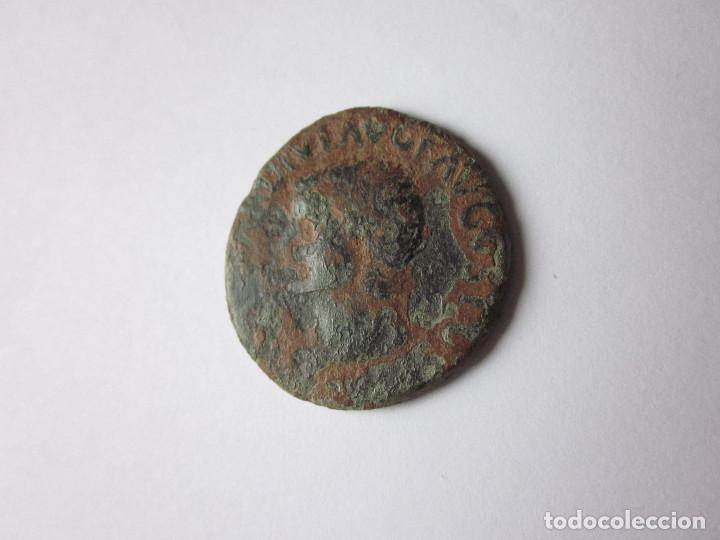 Monedas Imperio Romano: As de Ilici. Tiberio. Ara. - Foto 2 - 235494455