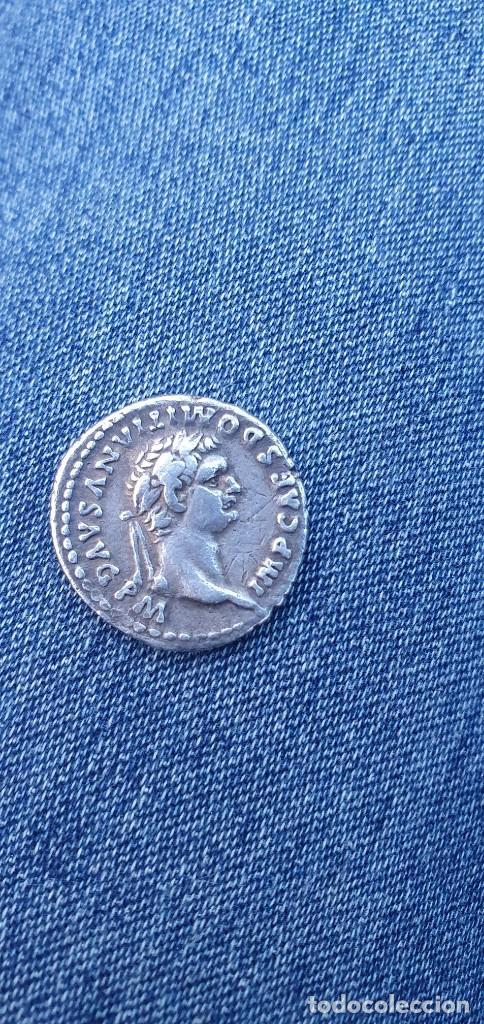Monedas Imperio Romano: Moneda ROMANA plata DOMITIAN IVPPITER CONSERVATOR - Foto 7 - 235507055