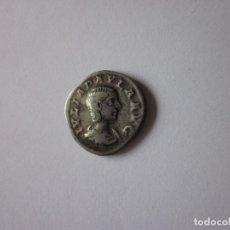 Monedas Imperio Romano: DENARIO DE JULIA PAULA. CONCORDIA. PLATA. RARO.. Lote 235712600
