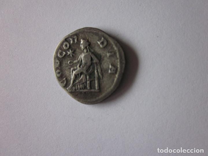 Monedas Imperio Romano: Denario de Julia Paula. Concordia. Plata. Raro. - Foto 2 - 235712600