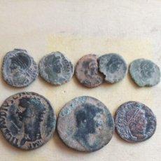 Monedas Imperio Romano: LOTE DE 8 MONEDAS ROMANAS.. Lote 235843120
