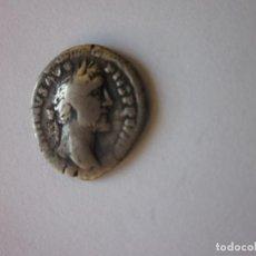 Monedas Imperio Romano: DENARIO DE ANTONINO PIO. DEIDAD SEDENTE. PLATA.. Lote 235959920
