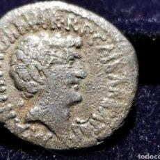 Monedas Imperio Romano: DENARIO MARCÓ ANTONIO Y AUGUSTO, ORIGINAL. Lote 236000075