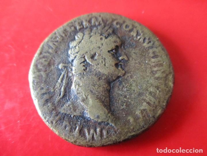 IMPERIO ROMANO SEXTERCIO DE DOMICIANO. 81/96 DC. (Numismática - Periodo Antiguo - Roma Imperio)