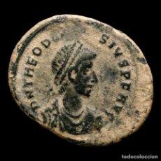 Monedas Imperio Romano: TEODOSIO I (379-395 ), MAIORINA CYZICO GLORIA ROMANORVM SMKA (3287). Lote 236527830