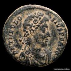 Monedas Imperio Romano: TEODOSIO I (379-395) MAIORINA. ANTIOQUÍA. REPARATIO REI PVB / ANTΓ. Lote 236531410