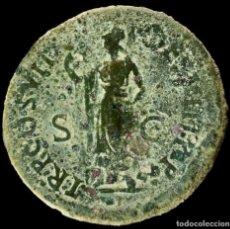 Monedas Imperio Romano: SESTERCIO DE DOMICIANO - TR P COS VII DES VIII PP - 35 MM / 26.22 GR.. Lote 236542565