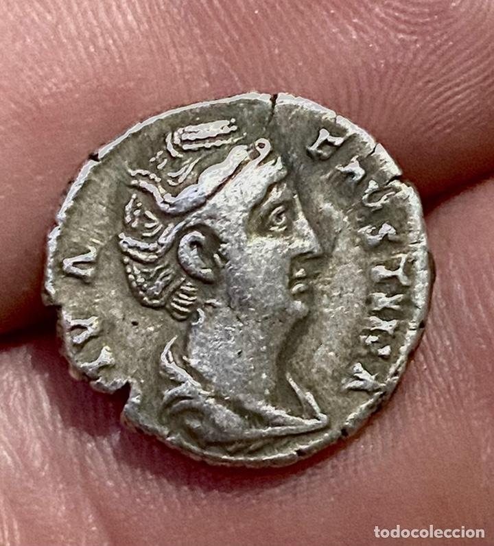 DENARIO-DIVA FAUSTINA-AETERNITAS. N081 (Numismática - Periodo Antiguo - Roma Imperio)