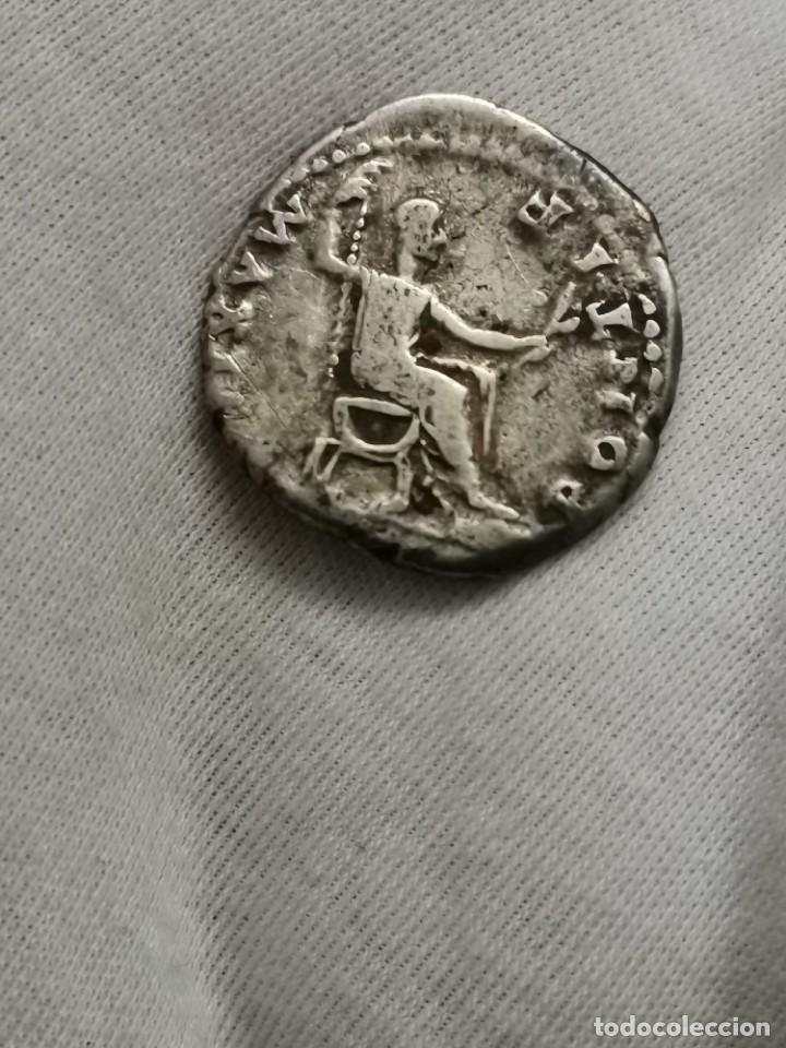 Monedas Imperio Romano: Denario de Vespasiano, PONTIF MAXIM. (73 d.c.) - Foto 4 - 237023175