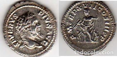 Monedas Imperio Romano: RARO DENARIO DE SEPTIMIO SEVERO - Foto 2 - 39174969