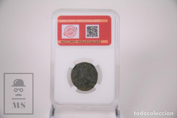 Monedas Imperio Romano: Moneda Imperio Romano Arcadio - Virtus Exerciti - Certificacion Wac - En Slab - Foto 2 - 241718045