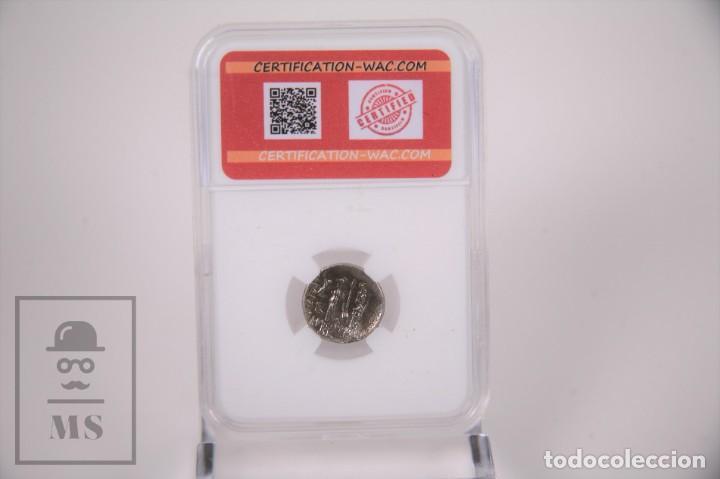 Monedas Imperio Romano: Moneda Imperio Romano Turquia - Ariobarzanes I Dracma Plata - Certificacion Wac - En Slab - Foto 2 - 241718940
