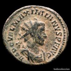 Moedas Império Romano: NICE MAXIMIANO ANTONINIANO DE BRONCE. LUGDUNUM Γ. HERCVLI PACIFERO.. Lote 171819252