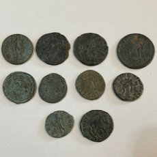 Monedas Imperio Romano: LOTE MONEDAS ROMANAS. Lote 243173530