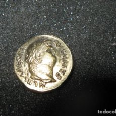 Monedas Imperio Romano: NERO, 54-68. AUREUS 65/66, ROME. NERO CAESAR AVGVSTVS, HEAD / SALVS, SALUS WITH PATERA ON THRONE. Lote 243191985