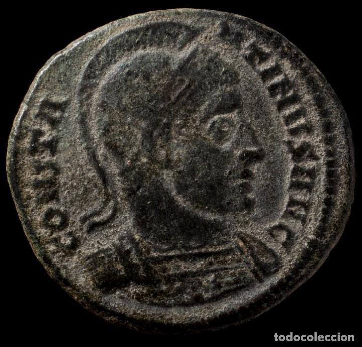 Monedas Imperio Romano: Constantino - ROMAE AETERNAE, Roma - 19 mm / 3.32 gr. - Foto 2 - 243589745