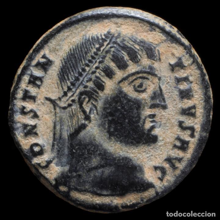 CONSTANTINO - PROVIDENTIAE AVGG, CIZICO - 18 MM / 3.28 GR. (Numismática - Periodo Antiguo - Roma Imperio)