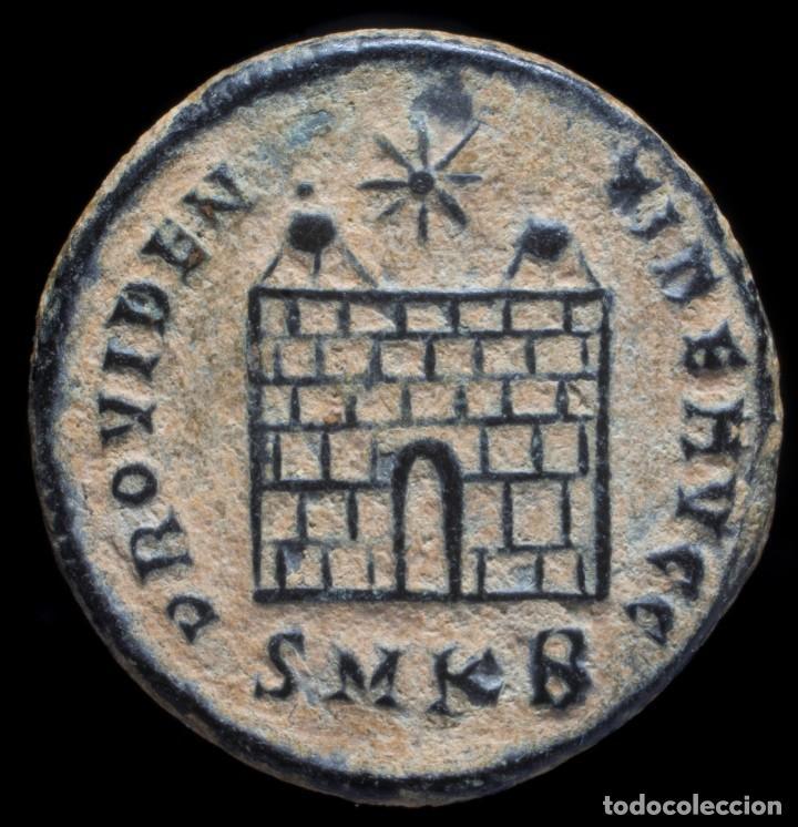 Monedas Imperio Romano: Constantino - PROVIDENTIAE AVGG, Cizico - 18 mm / 3.28 gr. - Foto 2 - 243590865