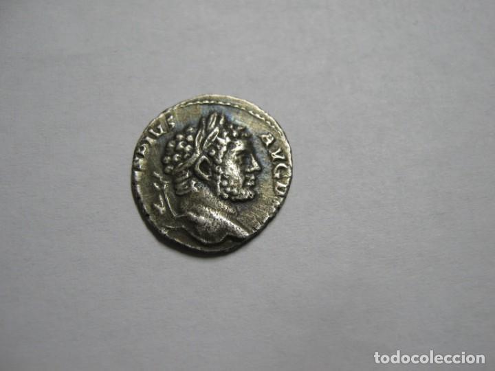 CARACALLA SILVER DENARIUS- ANTONINVS PIVS AVG GERM SILVER 2,2 GR. (Numismática - Periodo Antiguo - Roma Imperio)