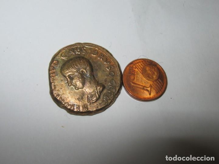 NERO CLAUDIUS DRUSUS. GERMANIKUS BRONZE VERY FINE 13,20 GR. (Numismática - Periodo Antiguo - Roma Imperio)