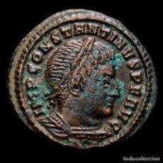 Monedas Imperio Romano: CONSTANTINO I, TICINUM - FOLLIS. SOLI INVICTO COMITI - PT / *. Lote 245158090