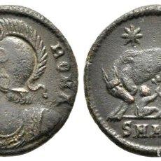 Monedas Imperio Romano: SERIE CONMEMORATIVA, 330-354. FOLLIS ANTIOCHIA, 330-335. VRBS ROMA 18 MM. 2,41G. Lote 245221645