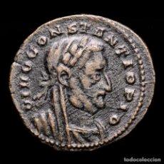 Monedas Imperio Romano: RARO DIVO CONSTANCIO I FOLLIS MEMORIA FELIX / PLN ALTAR Y AGUILAS. Lote 245246750