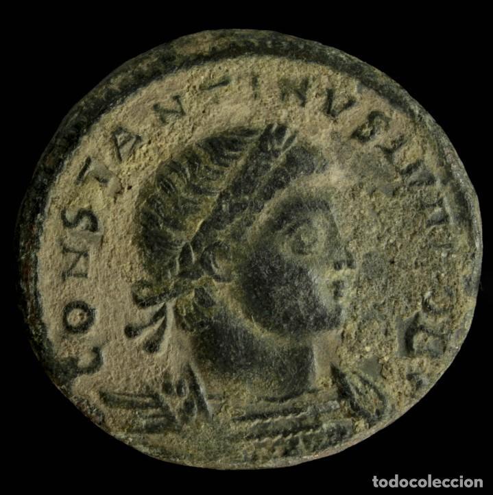 CONSTANTINO II - GLORIA EXERCITVS, ANTIOQUIA - 17 MM / 2.60 GR. (Numismática - Periodo Antiguo - Roma Imperio)