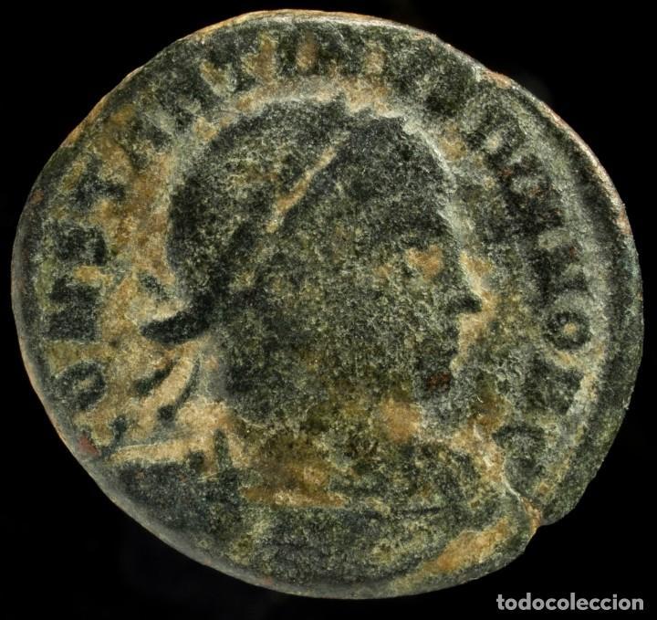 CONSTANTINO II - GLORIA EXERCITVS, ROMA - 18 MM / 2.49 GR. (Numismática - Periodo Antiguo - Roma Imperio)