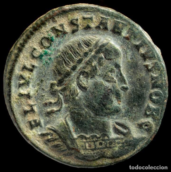 CONSTANTINO II - GLORIA EXERCITVS, ANTIOQUIA - 18 MM / 2.01 GR. (Numismática - Periodo Antiguo - Roma Imperio)