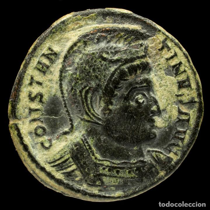 CONSTANTINO - BEATA TRANQVILITAS, TRIER - 18 MM / 2.79 GR. (Numismática - Periodo Antiguo - Roma Imperio)
