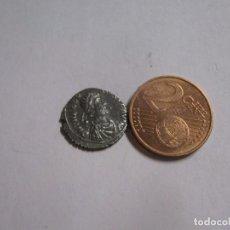 Monedas Imperio Romano: ROMAN COINS - 1,2 GR BRONCE DORADO THEODOSIUS I, 379-395 EXSELANT. Lote 252756240
