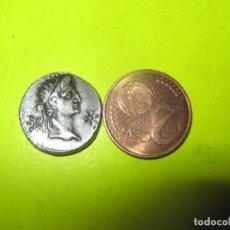 Monedas Imperio Romano: CALIGULA, WITH DIVUS AUGUSTUS AR DENARIUS. LUGDUNUM, AD 37. C CAESAR AVG GERM P M TR POT COS. Lote 253629035