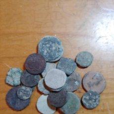 Monedas Imperio Romano: LOTE DE 20 MONEDAS ROMANAS PARA CLASIFICAR Y LIMPIAR MUY INTERESANTES. Lote 253683905