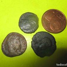 Monedas Imperio Romano: CONVOY 3 MINIME 1/2 FOLIS CONSTANTINUS DUNASTIE,. Lote 253814750